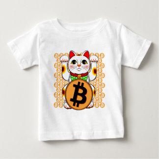 Bitcoin Maneki Nekoの幸運な猫06 ベビーTシャツ