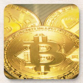 Bitcoinsのマクロ大きい円形のmojo コースター