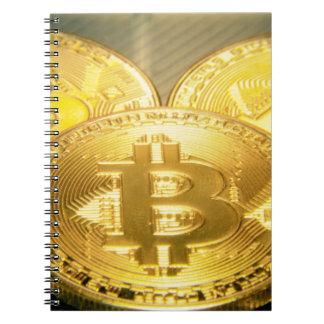 Bitcoinsのマクロ大きい円形のmojo ノートブック