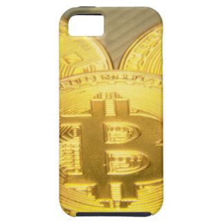 Bitcoinsのマクロ大きい円形のmojo iPhone SE/5/5s ケース
