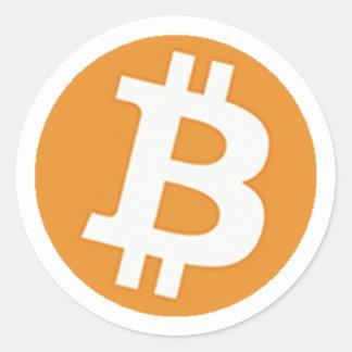 BitCoinSticker ラウンドシール