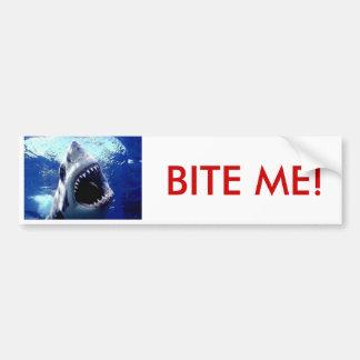 biteme 2は、私をかみます! バンパーステッカー