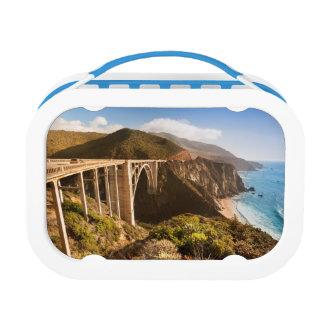 Bixby橋、大きいSur、カリフォルニア、米国 ランチボックス