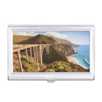 Bixby橋、大きいSur、カリフォルニア、米国 名刺入れ