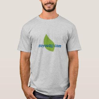 bjjのロゴのdoyoubjj.comのTシャツ Tシャツ