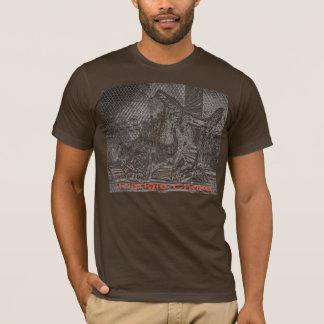 BJJの三角形のチョークの服従のワイシャツ Tシャツ