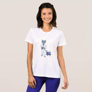 BJJの子猫の青ベルト Tシャツ