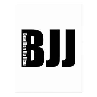 BJJ -ブラジル人Jiu Jitsu ポストカード