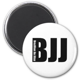 BJJ -ブラジル人Jiu Jitsu マグネット