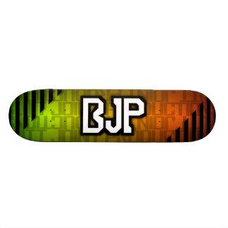 BJPのロゴの春 スケボー