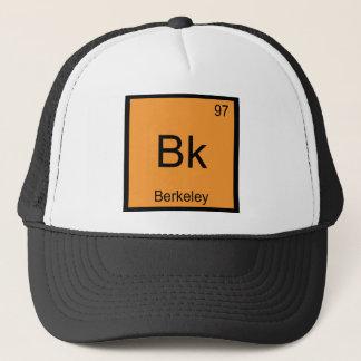Bk -バークレー化学要素の記号カリフォルニア キャップ