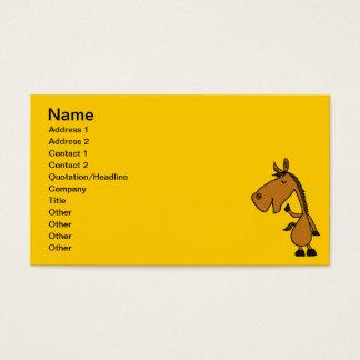 BL-おもしろいな馬の名刺 名刺