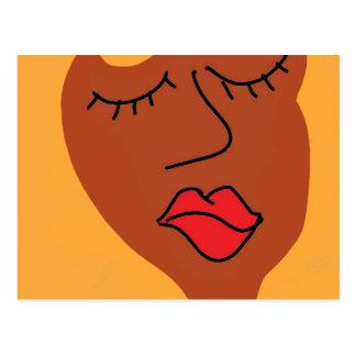 blaのblaの女性 ポストカード