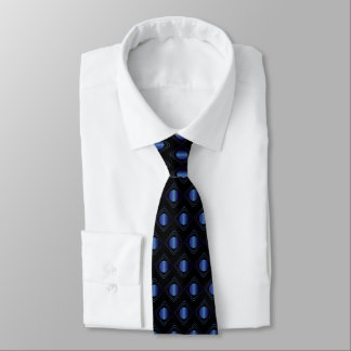 Black & Blue Boxed In Tie ネックウェアー