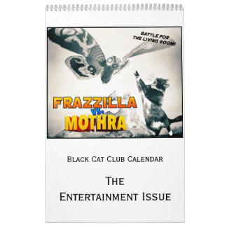 Black Cat Club Calendar, the Entertainment Issue カレンダー