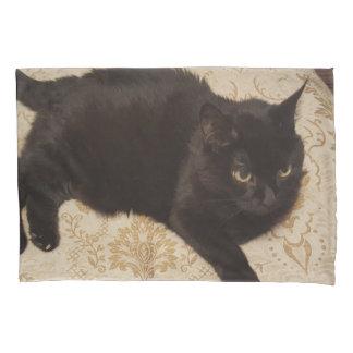Black Cat Roxie 枕カバー