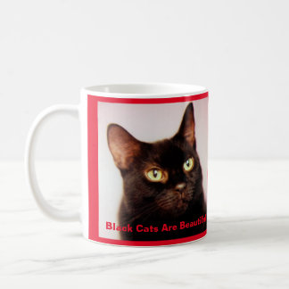 Black Cats Are Beautiful Coffee Mug (version 2) コーヒーマグカップ