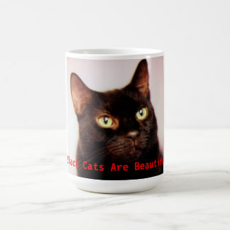Black Cats Are Beautiful Mug コーヒーマグカップ