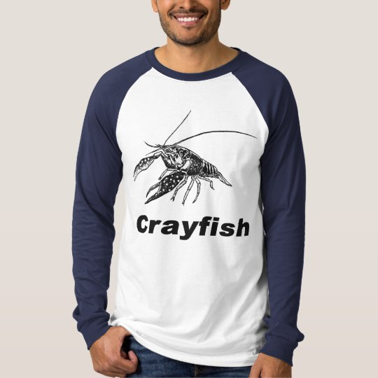 black crawfish tシャツ