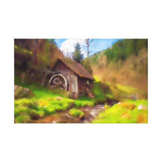 Black Forest Mill キャンバスプリント