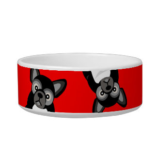 Black French Bulldog Cute Frenchie Puppy ボウル