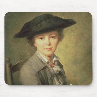 Black Hat会議、18世紀の若いdraughtsman マウスパッド