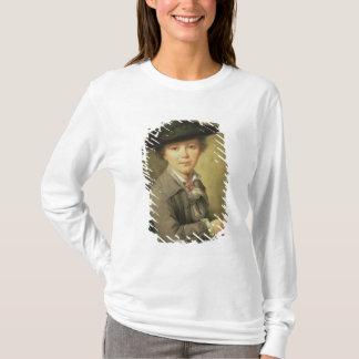 Black Hat会議、18世紀の若いdraughtsman Tシャツ