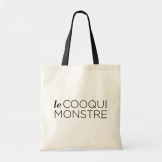 black le Cooqui Monstre トートバッグ