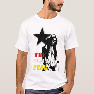 Black star tシャツ