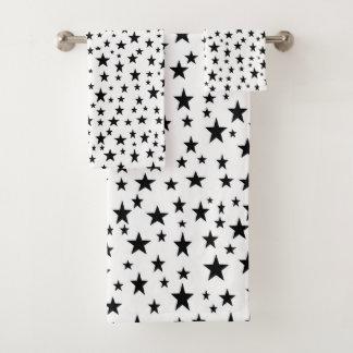 Black Stars バスタオルセット