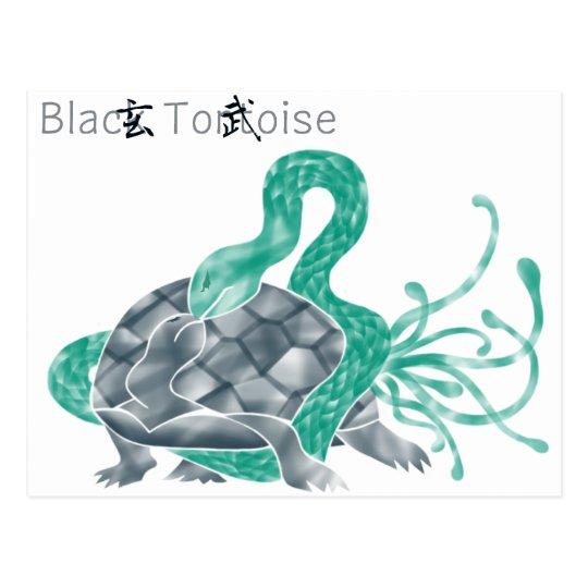 Black Tortoise(black) ポストカード