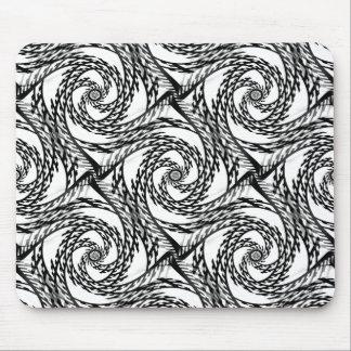 Black&Whiteで渦巻くこと… マウスパッド