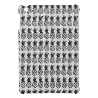 Black&whiteのパイナップル iPad Miniケース