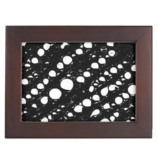 Black&Whiteの劇的な抽象芸術 宝箱