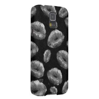 Black&Whiteの抽象的な唇 Galaxy S5 ケース