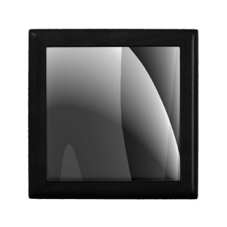 Black&Whiteの波状の抽象芸術 ギフトボックス
