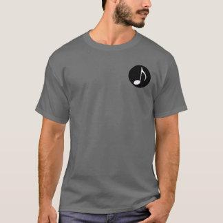 black&white音楽ノート tシャツ