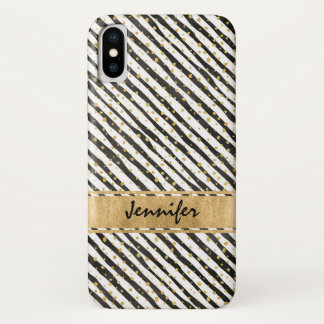Black White Case-Mate Barely There iPhone X Case 2