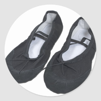 BlackBalletShoes070111 ラウンドシール