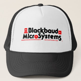 Blackbaudのマイクロシステムはきれいにしますトラック運転手の帽子(黒)を キャップ