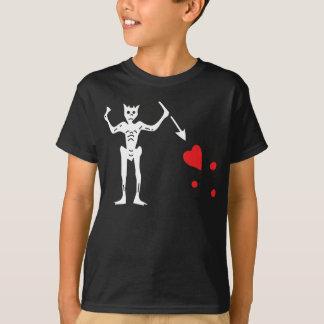 Blackbeardの海賊旗 Tシャツ