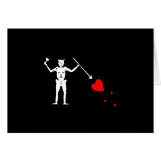 Blackbeardエドワードは海賊旗を教えます カード
