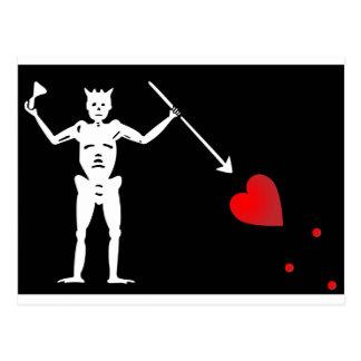 BlackBeardsの旗(エドワードは教えます) ポストカード