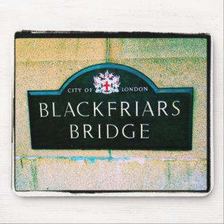 Blackfriars橋-ロンドン市-マウスパッド マウスパッド