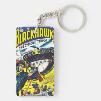 Blackhawkの漫画本 キーホルダー