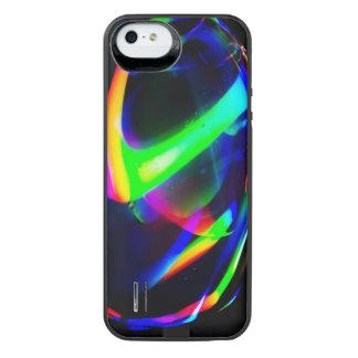 Blacklightの泡 iPhone SE/5/5sバッテリーケース