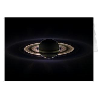 Blacklit土星 カード