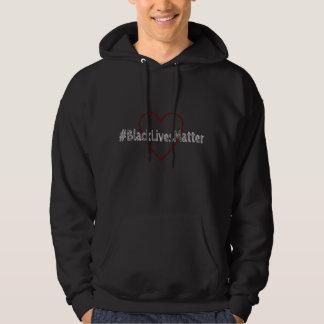 #BlackLivesMatterの人のフード付きスウェットシャツ パーカ