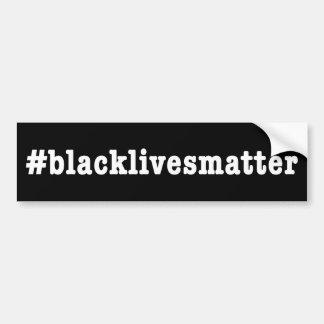 #blacklivesmatter バンパーステッカー