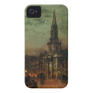 Blackmanの通り、ジョンAtkinson Grimshaw著ロンドン Case-Mate iPhone 4 ケース